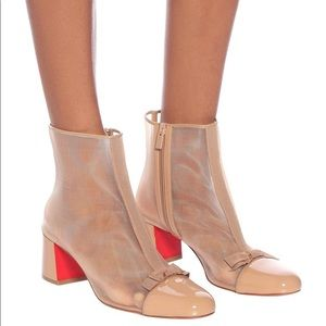 New Size 40.5 Christian Louboutin Checkypoint Boot